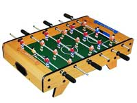Wooden football game mini soccer table