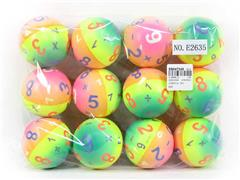 6.3CM PU Ball(12in1) toys