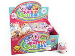 6.3CM PU Ball(24in1) toys