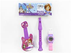 Musical Instrument Set & Watch(3in1) toys