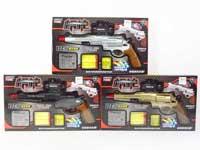 Crystal Bullet Gun Set W/L(3C)
