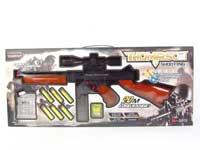 Crystal Bullet Gun Set W/L