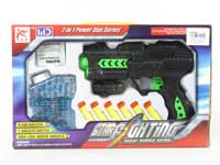 Crystal Bullet Gun Set W/Infrared