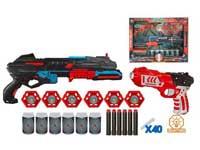 Soft Bullet Gun Set W/L(2in1)