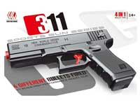 4in1 Crystal Bullet Gun Set