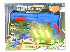 Toy Gun & Pull Back Car toys