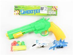 Soft Bullet Gun & Free Wheel Plane toys