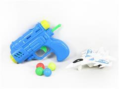 Pingpong Gun & Free Wheel Plane toys