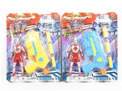 EVA Soft Bullet Gun Set(2C) toys