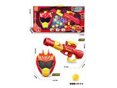 EVA Pingpong Gun Set toys