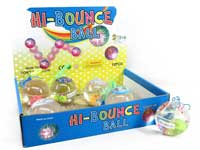 6.5CM Bounce Ball W/L(12pcs)