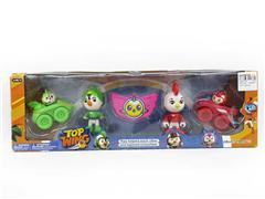 3.5inch Sky Team Set(2in1) toys