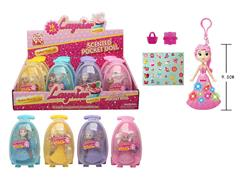 3.5inch Key Doll Set W/L(16in1) toys