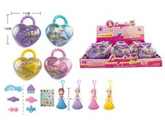 3.5inch Key Princess W/L(12in1) toys