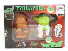 4inch Baby Yoda(2in1) toys