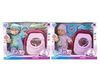 13inch Wadding Moppet Set W/S & Baby Walker(2C) toys