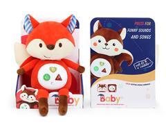 Plush Fox W/L_M toys
