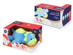 Plush Soothes Dinosaurs W/L_S toys