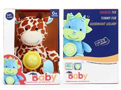 Plush Soothes Giraffes W/L_S toys