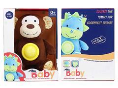 Plush Soothes Monkeys W/L_S toys