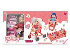 12inch Doll Set & Go-Cart toys