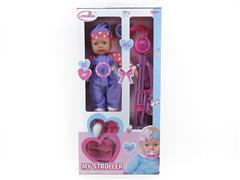 16inch Wadding Moppet Set W/IC toys