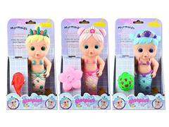 14inch Bubble Blowing Mermaid Set(3S3C) toys