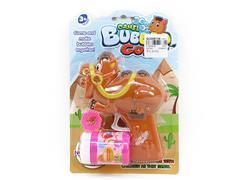 Friction Bubble Gun toys
