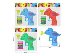 Friction Bubbles Gun(3C) toys