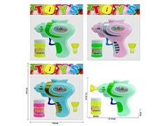Friction Bubble Gun(3C) toys