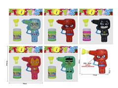 Friction Bubbles Gun W/L(5C) toys