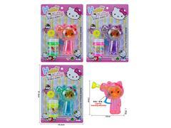 Friction Bubble Gun W/L(3C) toys