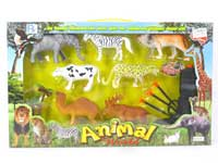 Animal Set & Soft Bullet Gun