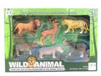 实心PVC动物+地图