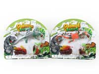 Lizard & Beetle Set(3S)
