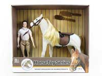 horse toys with dolls toys