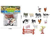Farm Animal Set(12in1)