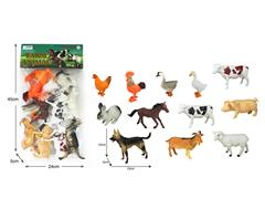 Poultry Animals(12in1) toys