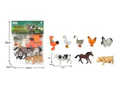 Poultry Animals(8in1) toys