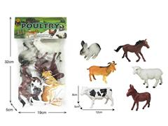 Poultry Animals(6in1) toys