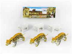 Polar Bear & Leopard(6in1) toys