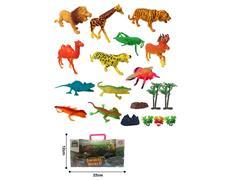 Animal Set(12in1) toys