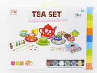 Porcelain Tea Set(17pcs)