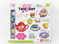 Porcelain Tea Set(9pcs)