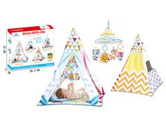 Play Tent W/M & Ball toys